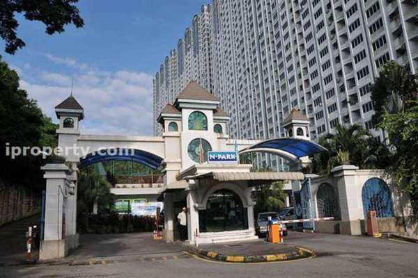 For Rent Condominium at N-Park, Batu Uban Leasehold Fully Furnished 3R/2B 1k