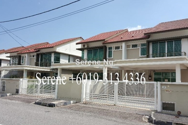 For Rent Semi-Detached at Bandar Putra Bertam, Penang  Unfurnished 4R/3B 1.2k