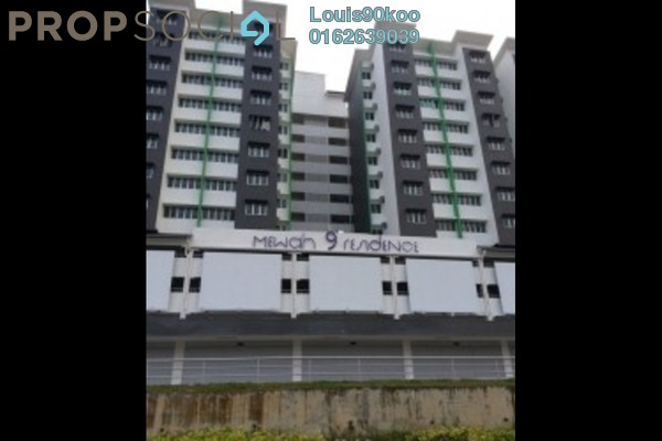 For Rent Condominium at Mewah 9 Residence, Kajang Freehold Semi Furnished 3R/2B 850translationmissing:en.pricing.unit