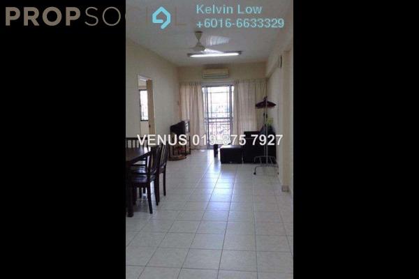 For Rent Apartment at Pelangi Damansara, Bandar Utama Leasehold Fully Furnished 3R/2B 1.4k