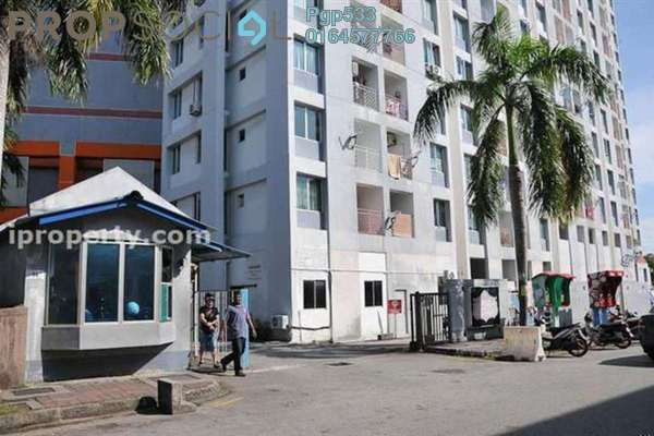 For Sale Apartment at BJ Court, Bukit Jambul Freehold Semi Furnished 3R/2B 270.0千