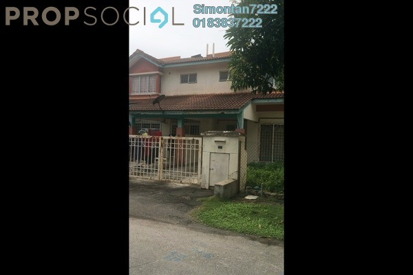 For Sale Terrace at PP 3, Taman Putra Prima Freehold Semi Furnished 4R/3B 608k
