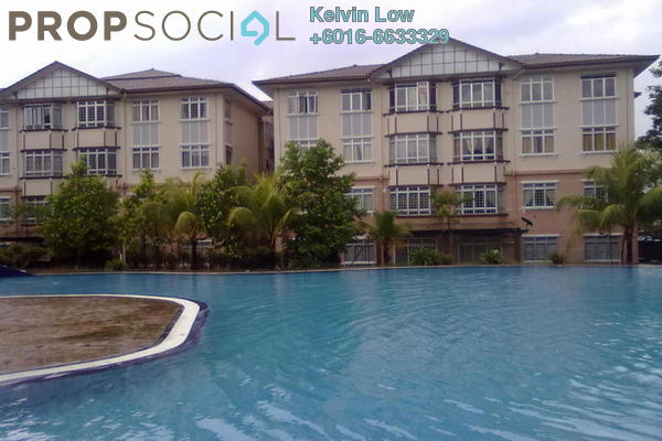 For Sale Condominium at D'Shire Villa, Kota Damansara Leasehold  3R/2B 430k