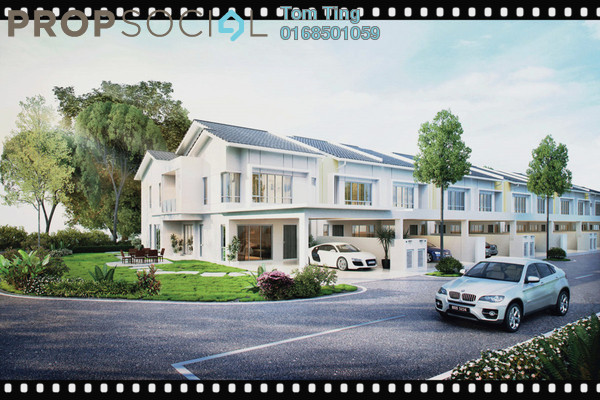 For Sale Terrace at Bellina Villas @ Nilai Springs, Putra Nilai Freehold Unfurnished 5R/4B 564k