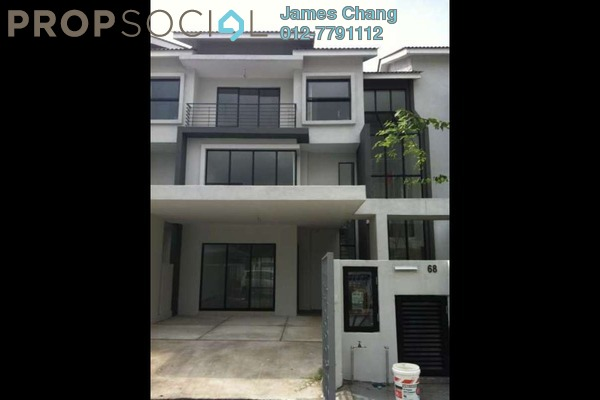 For Sale Terrace at Lake Fields, Sungai Besi Leasehold Semi Furnished 5R/5B 1.18m