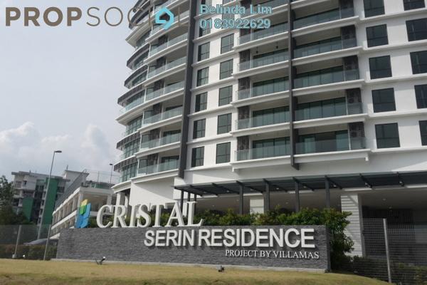 For Rent Condominium at Cristal Residence, Cyberjaya Freehold Semi Furnished 4R/2B 2.2k