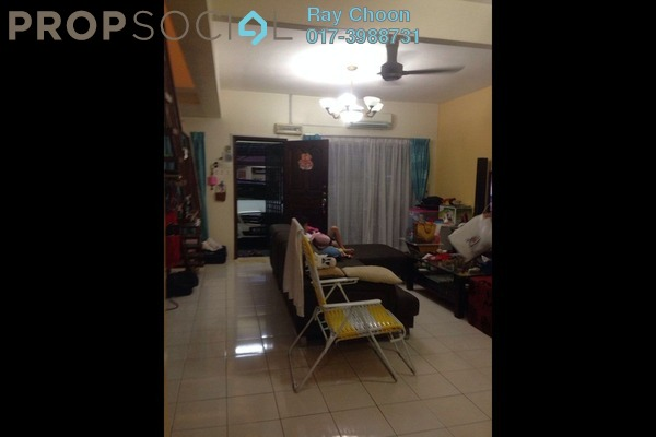 For Sale Terrace at Taman Puncak Jalil, Bandar Putra Permai Leasehold Semi Furnished 4R/3B 505k