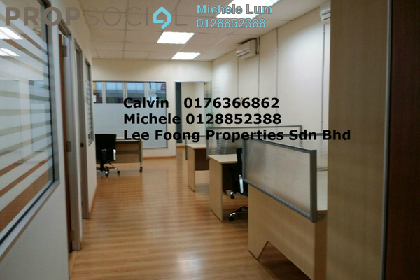 For Rent Office at Kuchai Business Park, Kuchai Lama Freehold Fully Furnished 3R/2B 3.9k