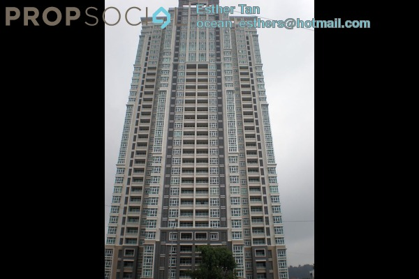 For Rent Condominium at Fettes Residences, Tanjung Tokong Freehold Fully Furnished 4R/3B 6k