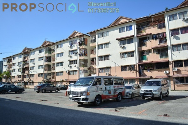 For Sale Apartment at Sri Anggerik 2, Bandar Kinrara Freehold Unfurnished 3R/2B 258k