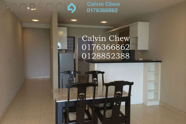 For Rent Condominium at Changkat View, Dutamas Freehold Fully Furnished 3R/2B 2.1k