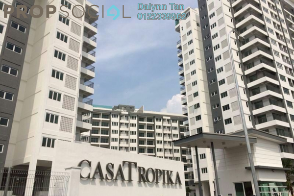For Sale Condominium at Casa Tropika, Puchong Leasehold Semi Furnished 3R/2B 448k