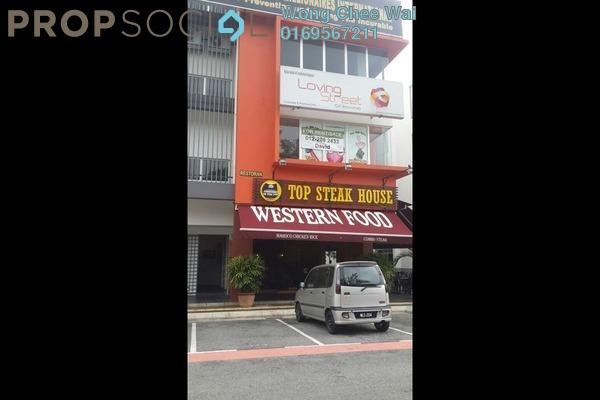 For Rent Shop at Taman Sri Rampai, Setapak Leasehold Semi Furnished 0R/0B 4k