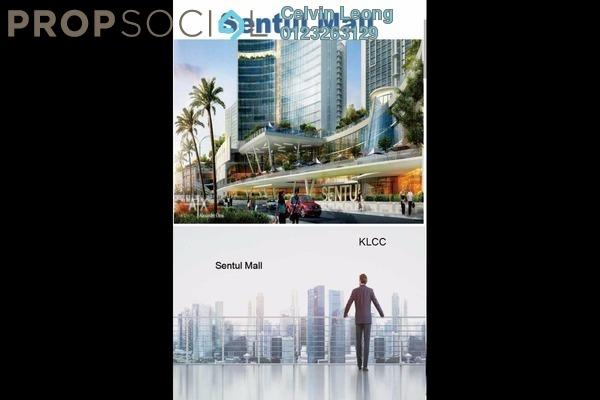 For Sale Condominium at Sentul Point, Sentul Freehold Unfurnished 2R/2B 367k