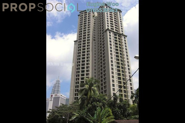 For Rent Condominium at Vista Damai, KLCC Freehold Fully Furnished 2R/2B 2.6k
