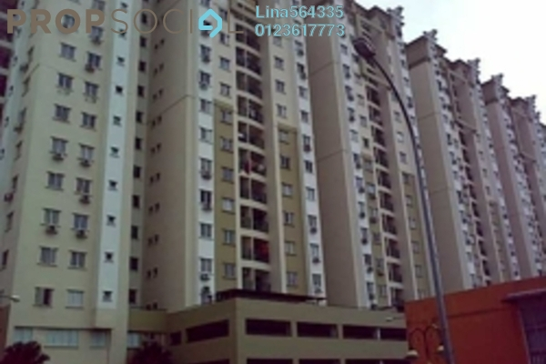 For Rent Apartment at Sri Ampang, Ampang Leasehold Semi Furnished 4R/3B 2.1k