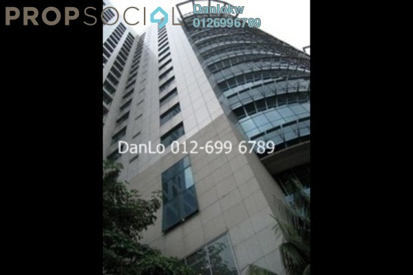 For Rent Office at Plaza Sentral, KL Sentral Freehold Semi Furnished 1R/1B 24.5k