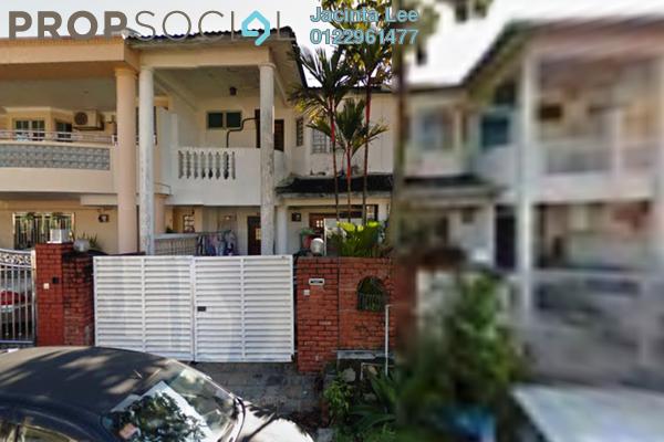 For Sale Terrace at Taman Bukit Desa, Kepong Freehold Semi Furnished 4R/3B 585k