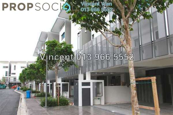 For Sale Terrace at The Mansions, Desa ParkCity Freehold Semi Furnished 6R/8B 5.3m