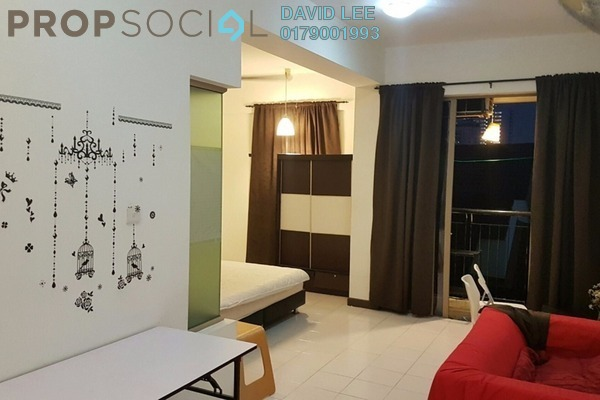 For Sale SoHo/Studio at Ritze Perdana 1, Damansara Perdana Leasehold Fully Furnished 1R/1B 300k