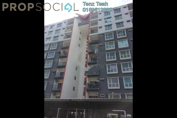For Rent Apartment at Suria Residence, Bandar Mahkota Cheras Freehold Semi Furnished 3R/2B 1k