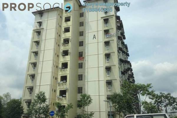 For Rent Apartment at Baiduri Courts, Bandar Bukit Puchong Freehold Semi Furnished 3R/2B 850translationmissing:en.pricing.unit