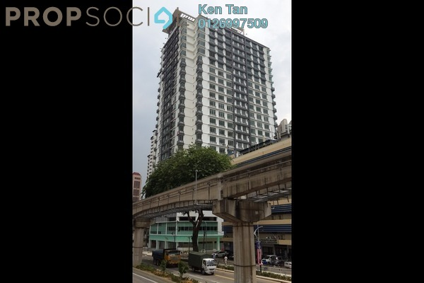 For Rent Condominium at Vue Residences, Titiwangsa Freehold Unfurnished 1R/1B 1.5k