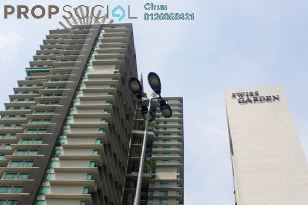 For Rent Serviced Residence at Swiss Garden Residences, Pudu Freehold Fully Furnished 1R/1B 2.5k
