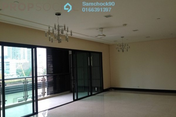 For Rent Condominium at The Binjai On The Park, KLCC Freehold Semi Furnished 4R/4B 11.5k