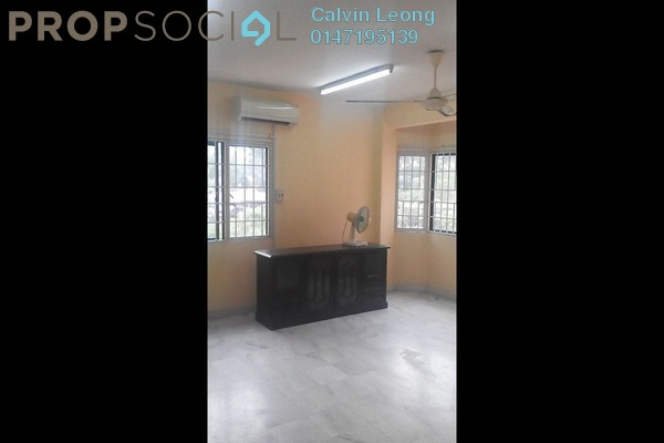 For Rent Apartment at Aman Puri, Kepong Freehold Semi Furnished 3R/2B 1.2k