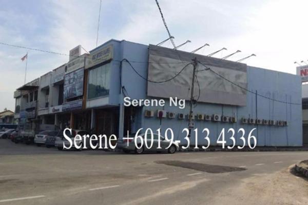 For Rent Shop at Taman Kimsar, Seberang Jaya Freehold Unfurnished 0R/0B 3.2k