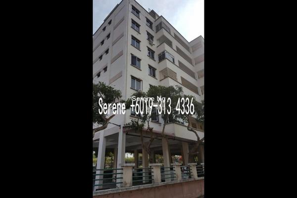 For Sale Apartment at Seri Pelangi Apartment, Bukit Mertajam Freehold Unfurnished 4R/2B 298k
