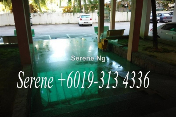 For Sale Apartment at Ria Apartment, Butterworth Freehold Semi Furnished 3R/2B 218k
