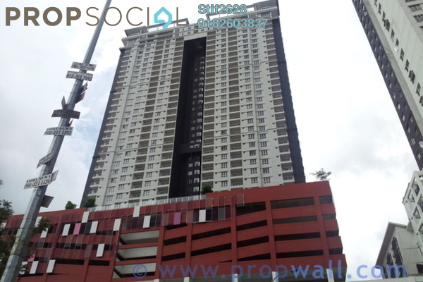 For Rent Condominium at Axis Residence, Pandan Indah Leasehold Fully Furnished 2R/2B 2.1k