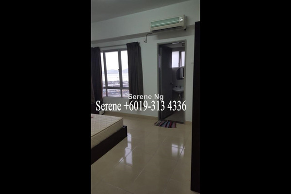For Rent Condominium at Sea View Tower, Butterworth Freehold Fully Furnished 3R/2B 1.5k
