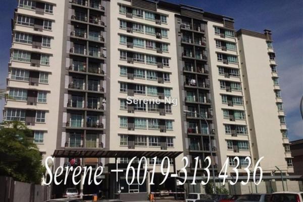For Sale Condominium at Kelisa Heights, Seberang Jaya  Unfurnished 4R/2B 360k