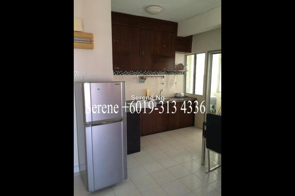 For Rent Condominium at Park View Tower, Butterworth Freehold Semi Furnished 3R/2B 1.1k