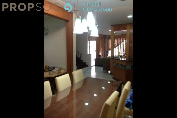 For Sale Superlink at Taman Esplanad, Bukit Jalil Freehold Semi Furnished 7R/6B 1.8m