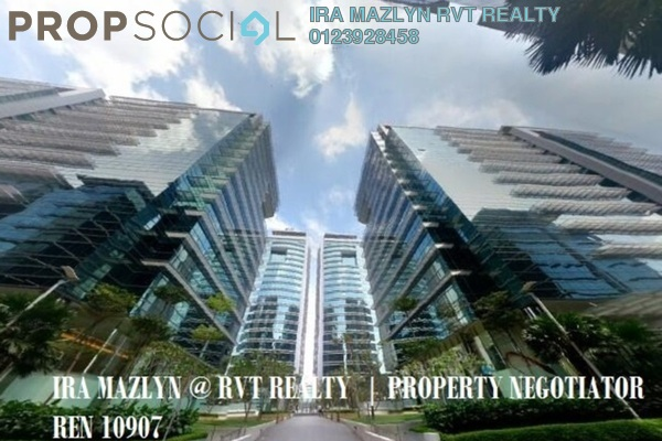 For Rent Office at The Vertical, Bangsar South Leasehold Semi Furnished 3R/2B 16.1k
