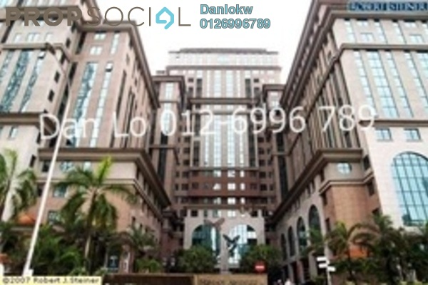 For Rent Office at Megan Avenue 2, KLCC Freehold Semi Furnished 1R/1B 7k