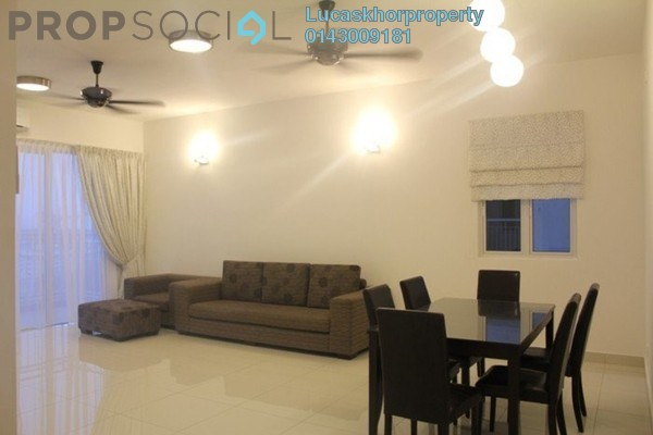 For Rent Condominium at Mont Kiara Meridin, Mont Kiara Freehold Fully Furnished 4R/3B 4k