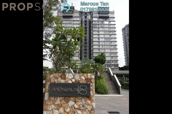 For Rent Condominium at Menjalara 18 Residences, Bandar Menjalara Freehold Semi Furnished 4R/3B 2.5k