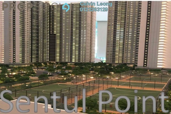 For Sale Condominium at Sentul Point, Sentul Freehold Unfurnished 2R/2B 369k