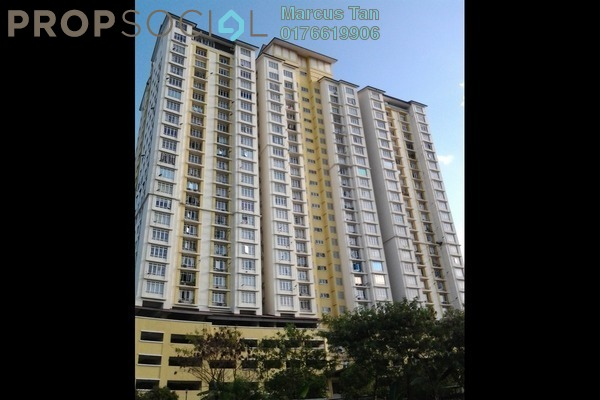 For Sale Condominium at Casa Prima, Kepong Leasehold Semi Furnished 3R/2B 458k