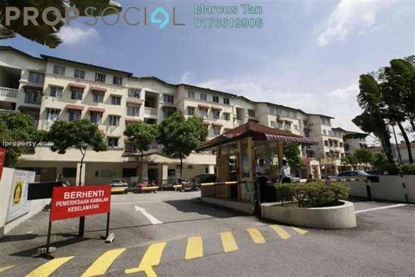 For Sale Apartment at Bayu Apartment, Damansara Damai Leasehold Semi Furnished 3R/2B 230k