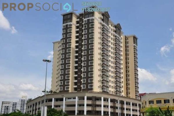 For Rent Condominium at 1 Petaling, Sungai Besi Leasehold Semi Furnished 3R/2B 1.3k