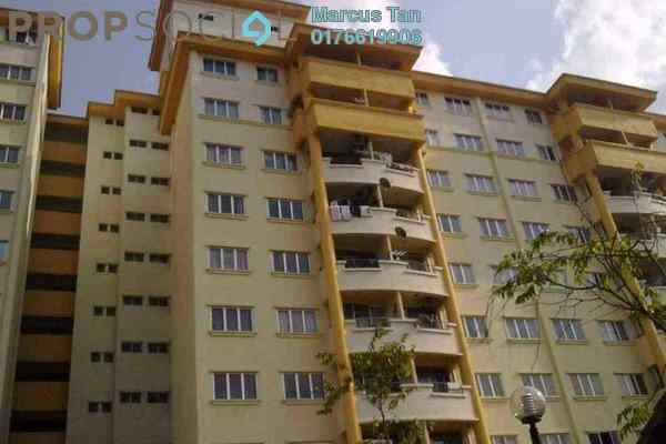 For Rent Apartment at Damansara Sutera, Kepong Freehold Semi Furnished 3R/2B 1.1k