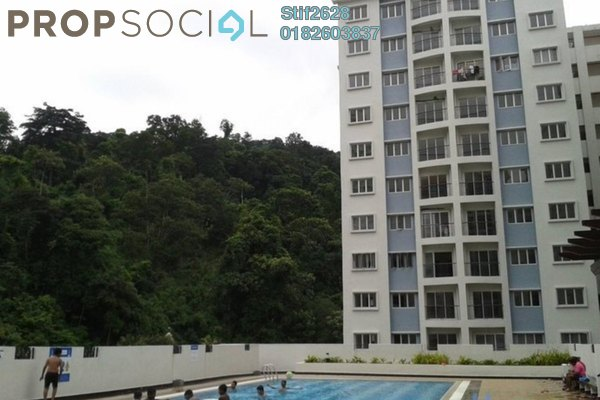 For Rent Condominium at Nusa Mewah, Cheras Leasehold Semi Furnished 3R/2B 1.2k