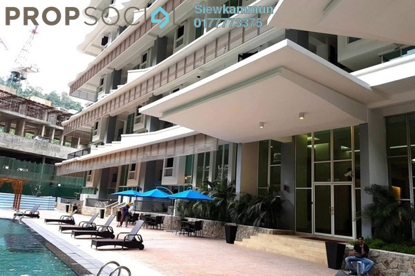 For Sale Condominium at Armanee Terrace II, Damansara Perdana Leasehold Semi Furnished 4R/3B 990k