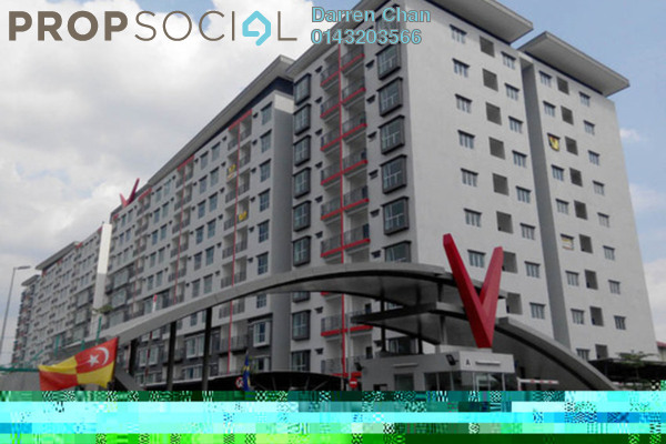 For Rent Apartment at Suria Residence, Bandar Mahkota Cheras Freehold Unfurnished 3R/2B 900translationmissing:en.pricing.unit